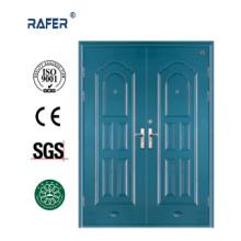 Powder Coated Big Cheap Steel Door (RA-S180)