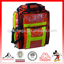 Large Red Trauma Backpack,emergency backpack,medical bag, medical backpack,,first aid backpack