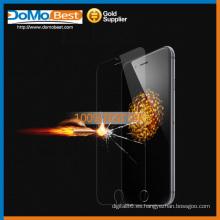 Doble lado, fuente de la fábrica y protector de pantalla de vidrio templado muestra gratis 9H para Apple iPhone 6