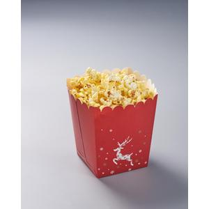 Popcorn box with elk with FDA paper