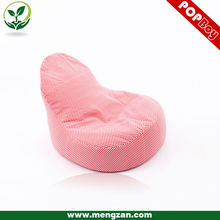 Розовый хлопок ткань фасоль мешок стул, диван beanbag