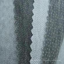 Полиэфира Non Сплетенная Двойная точка флизелин для рубашка равномерное костюм