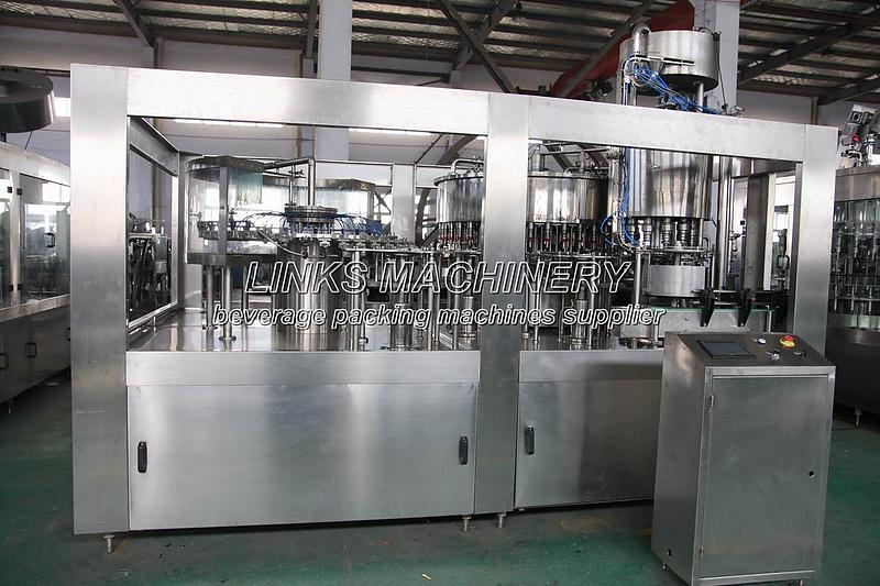 Full Automatic Liquid Filling Packing Machine