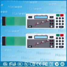 Гибкий мембранный выключатель с клеем 3M