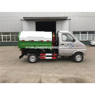 Changan 2cbm arm lifting garbage truck