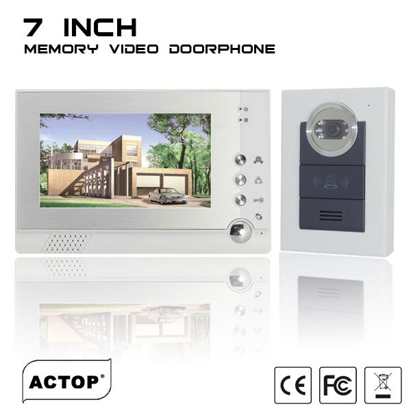 wire video door phone