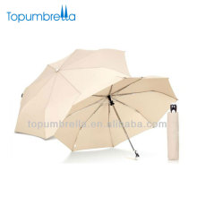 21 pulgadas 3 paraguas blancos a granel plegables