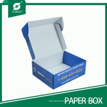 Blue Folding Hard Cardboard Box Wholesale