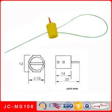 Selo plástico cilíndrico do medidor da torção Jc-Ms106