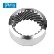 China Fabrik kundenspezifische CNC-Bearbeitung Edelstahlrohrflansch