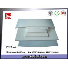 Placa anterior de fabricação de plástico PTFE / Teflon