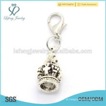 Meaningful liga de aço inoxidável dangle encantos, atacado barato dangle para flutuante charme locket
