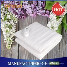 100% respirável poliéster Super Soft cobertores de aquecimento elétrico