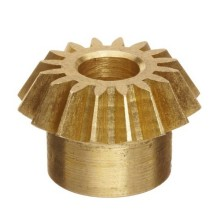High Precision CNC Machining Brass Pinion Bevel Gear