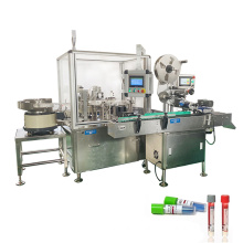 High performance test tube filling capping and labeling machine,5ml medical test tube filler capper