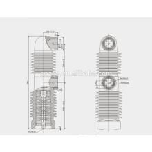 Eingebettete Pole 33VV / versiegelter Pfosten im Vakuumleistungsschalter