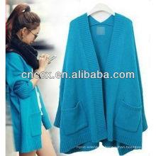 13STC5534 Damen Pullover Strickjacke Wolle Poncho Großhandel