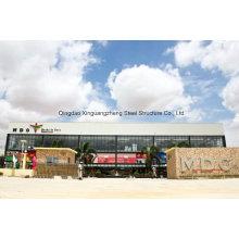 Supermercado de la estructura de acero, mercado de acero estructural estupendo (JW-16297)