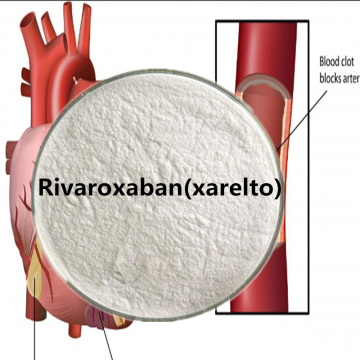 Xarelto Rivaroxaban Powder CAS 366789-02-8 Pharmaceutical Raw Materials Antithrombosis