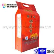 Bolsa de arroz con mango de tamaño personalizado