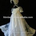 Последние строки с коротким рукавом вечернее партии носить ребенка Крещение платье для девочки Принцесса платье