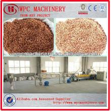 PP PE Wood Plastic Composite Granulation Equipment