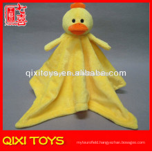 yangzhou animal blankets duck head plush baby blankets