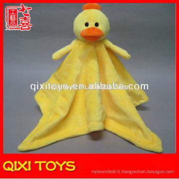 yangzhou couvertures d'animaux canard tête en peluche bébé couvertures