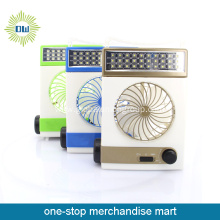 LED Rechargable Solar Electric Fan