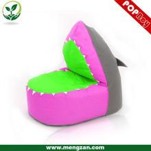 Chaise de sac de haricot de couleur mignonne bas prix sac de haricot canapé pour enfants