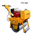 Low Cost 325kg Gas Powered Vibratory Single Steel Roller