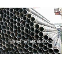 Astm a106 / a53 erw tuyaux en acier utilisés pour l'industrie pétrolière