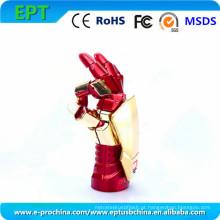 Hot Sale Iron Man forma Flash Drive USB Disk Disk (EM010)
