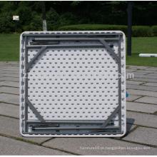 Venda quente de mobiliário exterior piquenique mesa plástica dobrável