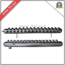 Colector de la bomba de escape de agua de Ss para el separador de agua de la calefacción de piso (YZF-AM160)