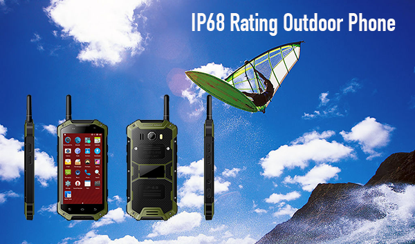 IP68 Bewertung Outdoor Telefon