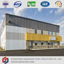 Edificio de administración prediseñado con almacenamiento de estructura de acero