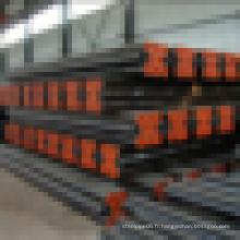 Chine fournissent 1 pouce de diamètre din standard noir rond en acier au carbone prix par tonne