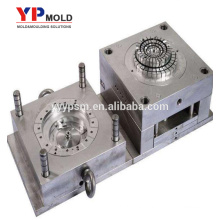 Plastic injection mold making exhaust fan shell cover moulding part