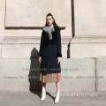 Vinter Kopenhagen Mink Fur Overcoat For Lady