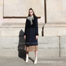 Winter Kopenhagen Mink Fur Overcoat For Lady