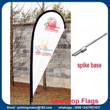 Custom Teardrop Flag Signs for Business