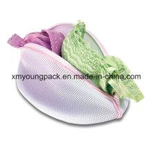 Werbeartikel Zipper Nylon Mesh BH Waschbeutel