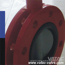 Flange Type Rubber Lined Double Flange Buttterfly Valve