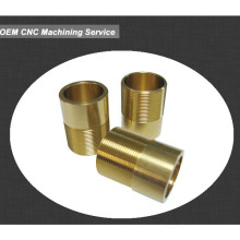 Steel electric motor bronze bushing,threaded OEM bushings