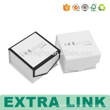 Caja de papel plegable plegable de encargo de la laminación de la película de la película de encargo
