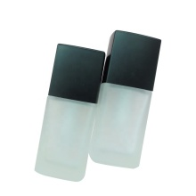 30ml White Liquid Foundation Head Glass Lotion Bottle