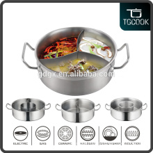 Stainless Steel Stock Pot with divider and best price