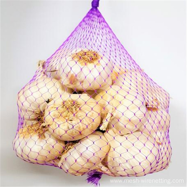 net bags for garlics tubular net