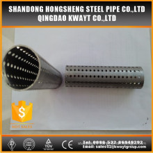 Hot sale 409 stainless steel perforated tube